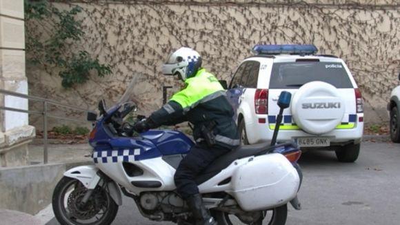 Dos menors, detinguts per robatori a una casa del carrer de Sant Rafel