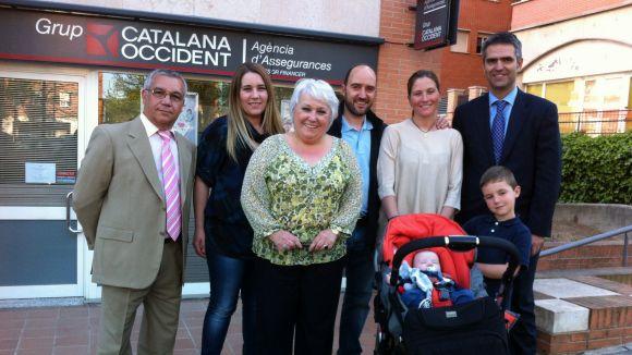 La pòlissa de Catalana Occident completa els premis del primer santcugatenc de l'any