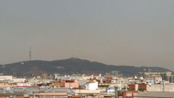 Activat el protocol per contaminació atmosfèrica a l'àrea de Barcelona per pols africana