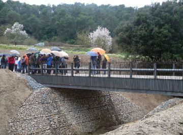 Inaugurat el nou pont de Can Borrell, que millorarà l'accés des de Cerdanyola