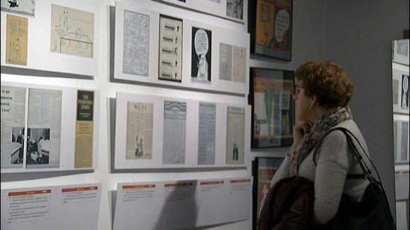 La mostra 'Por favor. Una mica de memòria històrica' fa estada a l'Ateneu amb la voluntat de girar pel país