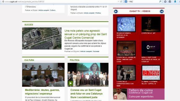 Les 10 notícies de Cugat.cat més llegides del 2014