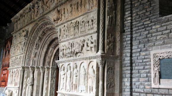 El CRBMC arranjarà la portalada del monestir de Ripoll