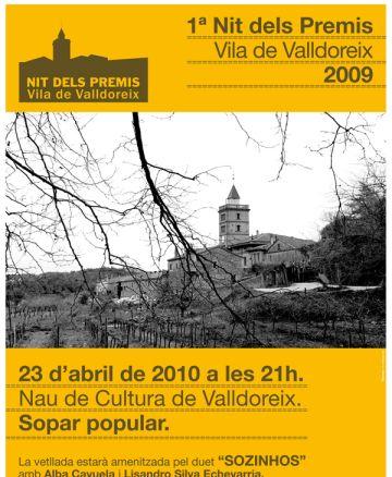 Els 1rs Premis Vila de Valldoreix arriben aquesta nit al territori