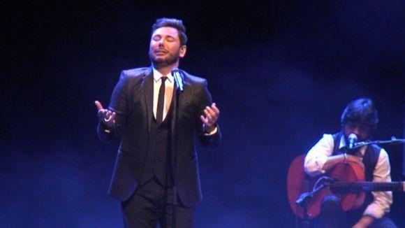 Miguel Poveda s'entrega al públic del Teatre-Auditori amb un concert sincer