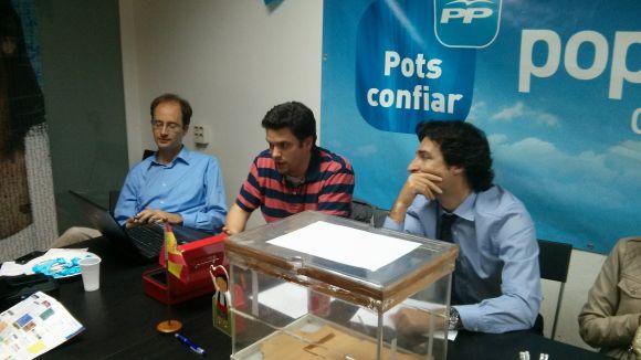 Jordi Carreras, de nou president del PP