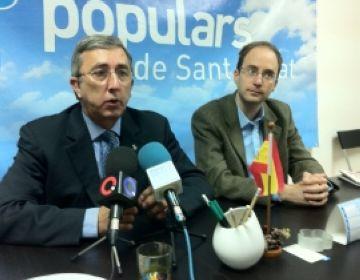 El PP presionarà per millorar l'aïllament acústic del Corredor del Mediterrani al seu pas per Sant Cugat