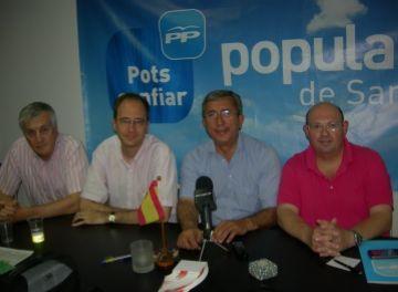 El PP estudia emprendre accions contra l'Ajuntament per no penjar totes les banderes