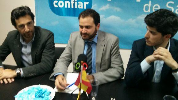 El diputat del PP Sánchez Costa carrega contra l'independentisme de Conesa