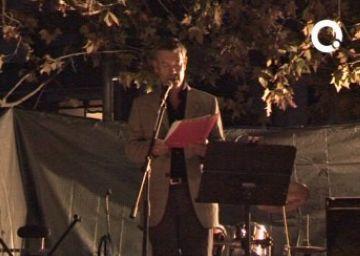 El pregoner de la festa del barri del Monestir, Ramon Grau, recorda les velles reivindicacions dels veïns