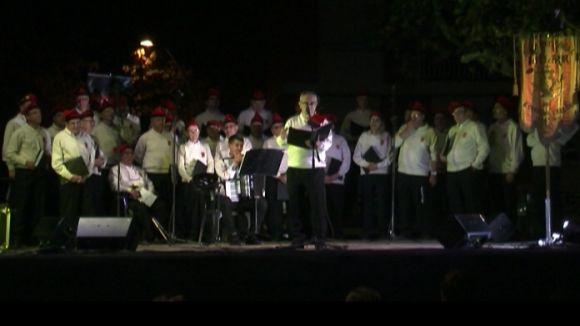 El pregó i la música de La Lira recorden la història del barri del Monestir