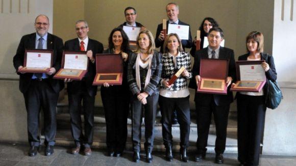 L'Ajuntament, premiat per la seva gestió dels residus i la neteja viària
