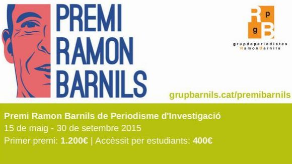 Continua oberta l'entrega d'originals per al premi de periodisme Ramon Barnils