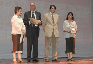 Imatge d'arxiu de l'entrega dels 'Premis Medi Ambient 2007'