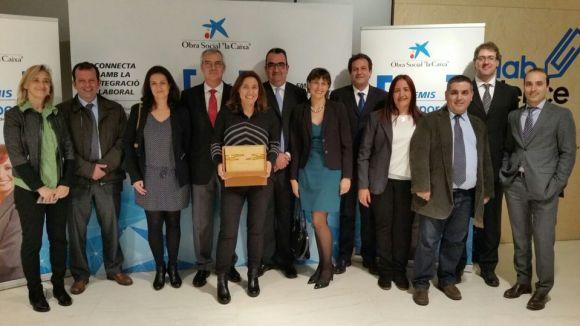 L'Ajuntament rep el Premi Incorpora per la tasca amb els més vulnerables