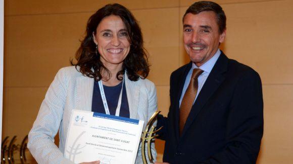 L'Ajuntament, premiat per la seva excel·lència en desenvolupament sostenible