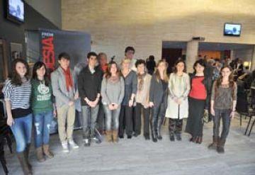 Guanyadors i familiars dels premis Gabriel Ferrater. / Font: Localpress