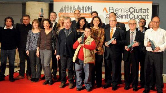 Sant Cugat referma el seu compromís social als Premis Ciutat de Sant Cugat