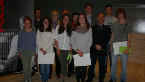 Júlia Pié, Paula Manríquez i Arnau Samarra guanyen el Ferrater de secundària