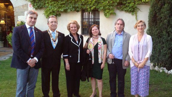 El Rotary reconeix la tasca de Marta Martí i el Taller Jeroni de Moragas