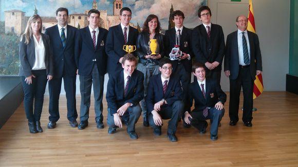 Joves premiats apropen la tecnologia a l'Ajuntament