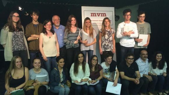 L'institut Joaquima Pla i Farreras triomfa als premis Vázquez Montalbán de Treballs de Recerca de Batxillerat