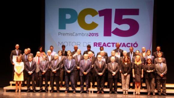 Tres empreses de Sant Cugat reben un Premi Cambra 2015
