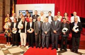 L'actriu Mercè Arànega rep el Premi Nacional de Teatre