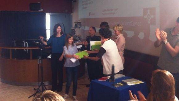Alumnes santcugatencs demostren la bona salut de la poesia entre els joves