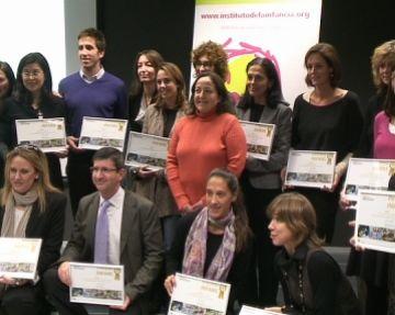 Cugat.cat rep el premi Infans pel seu compromís amb els projectes de l'Institut de la Infància