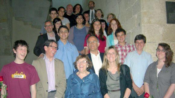 Òmnium presenta els guanyadors del Premi de Narrativa Pere Ferrer