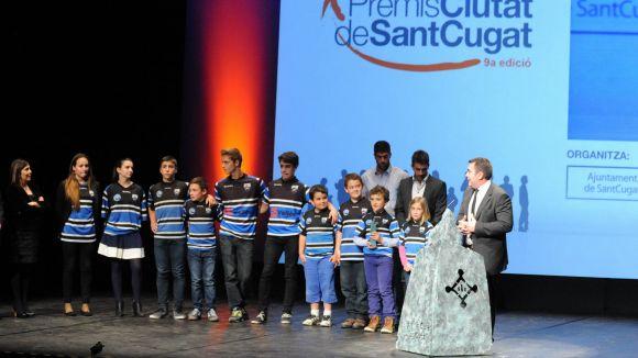 Club Rugby: 'El premi és un compromís amb la ciutat i els valors del rugbi'