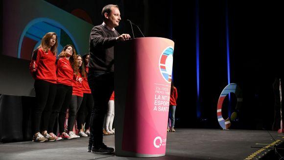 Tono Cadevall, Millor Entrenador a la gala dels Premis Esport en Marxa