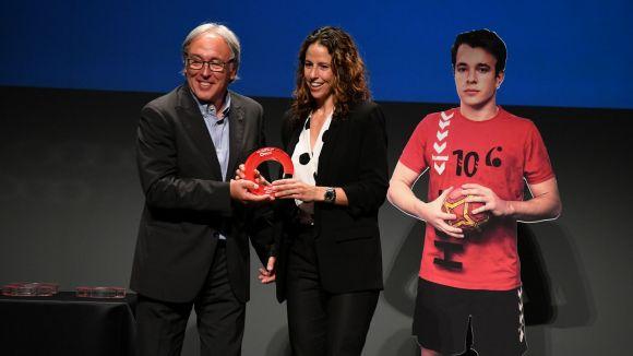 Marta Marrero s'endú el premi a la Millor Projecció Exterior de la 21a Nit de l'Esport