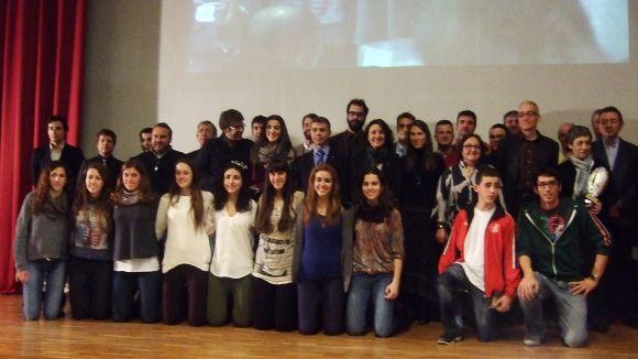 El Club Voleibol Sant Cugat, gran triomfador dels Premis Esport en Marxa
