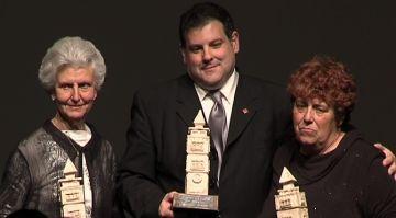 Pere Bordes, Rose Marie Marquès i Juan José Cortés, guanyadors dels primers Premis Vila de Valldoreix