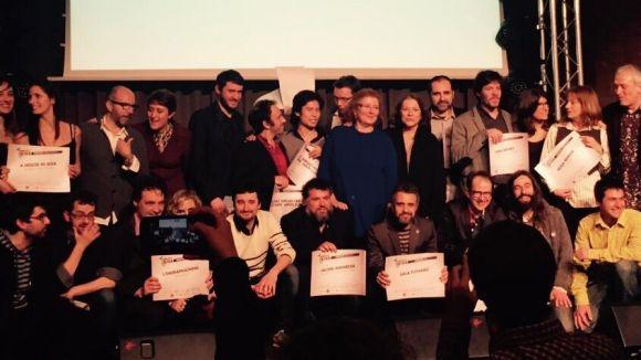 Mercè Arànega s'emporta el Premi de la Crítica a millor actriu de repartiment