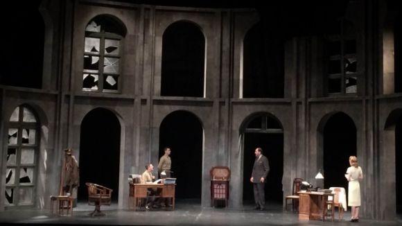 'Prendre partit' crida el Teatre-Auditori a reflexionar sobre la cultura i el poder