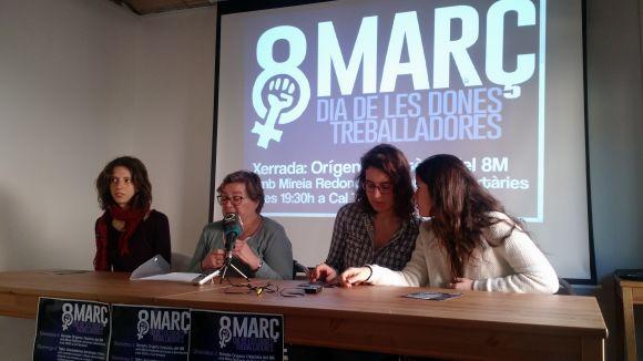 La plataforma unitària pel 8 de Març organitza quatre dies d'activitats pel Dia de la Dona Treballadora