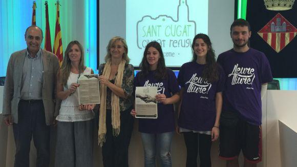 Sant Cugat es compromet amb les persones refugiades amb diferents iniciatives