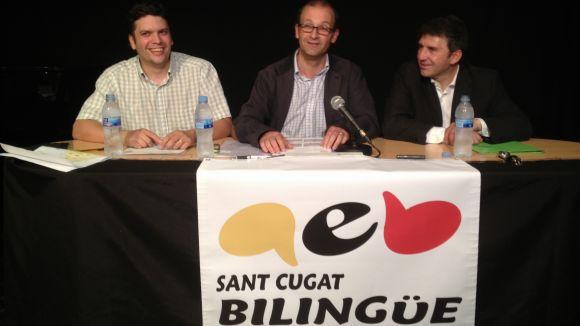 Pares santcugatencs s'uneixen per reclamar l'educació també en castellà