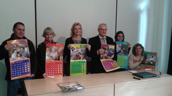 El calendari benèfic d'AVAN, a la venda a la Casa de Cultura