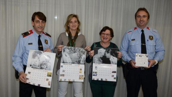 Els Mossos dediquen el calendari solidari a l'Alzheimer per segon any