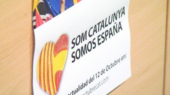 'Som Catalunya, somos España' crida a 'la unitat' el 12 d'octubre
