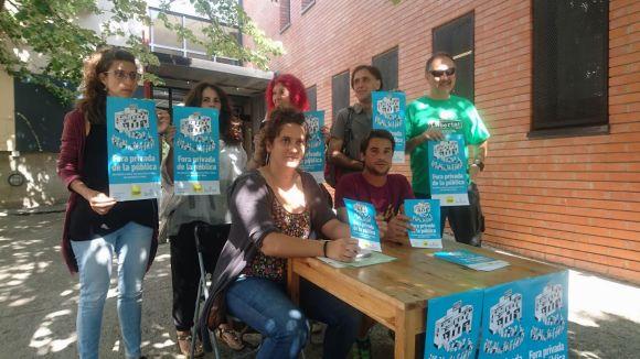 La CUP comença una campanya per 'fer fora l'activitat privada de la salut pública'