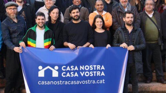 Sant Cugat dóna suport a 'Casa nostra, casa vostra' i referma el compromís amb l'acollida de refugiats