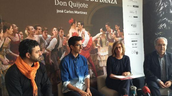 'El Quijote' de la Companyia Nacional de Dansa s'estrena a Catalunya aquest dissabte al Teatre-Auditori
