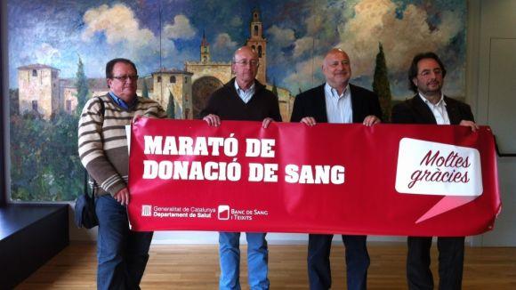 #StCugatTéSang, l'etiqueta per a la primera marató de sang 2.0