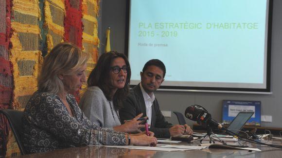 L'Ajuntament vol doblar el pressupost destinat a polítiques socials d'habitatge