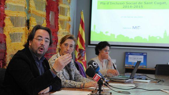 Neix el Pla d'Inclusió Social per garantir les necessitats bàsiques dels santcugatencs